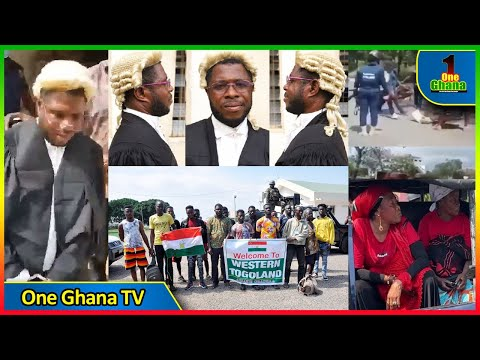 Fαke lawyer representing Western Togoland suspects arɛsted🔴Soldiers force NDC protesters to clean up