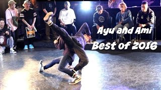 Best of Bgirl Ami and Ayu. Battle of the Year champions 2016-2017