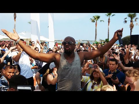 Wyclef Jean 'What Happend To Love' Shazam event Cannes Lions 2017