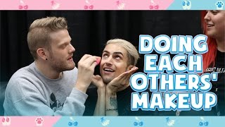 Doing Each Others' Makeup!