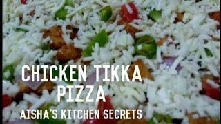 Pizza by Aisha   Tikka Flavour Pizza   Easy Pizza Recipe