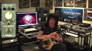Michael Angelo Batio Introduction Signature Overdrive Pedal