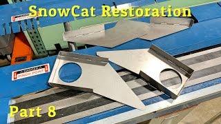 Frandee SnoShu Model E Snowcat Restoration Part 8