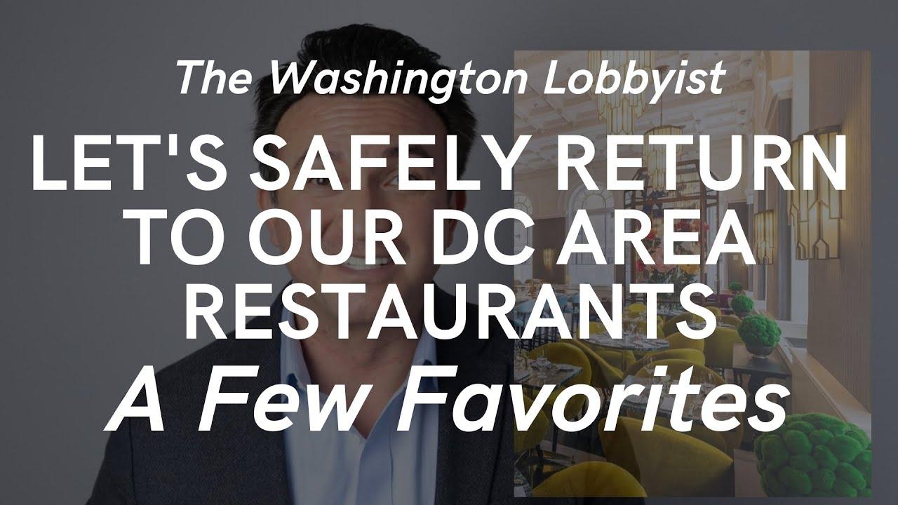 Washington, DC Area Restaurants That Are Open 2021