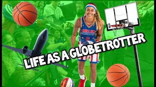 LIFE AS A HARLEM GLOBETROTTER: SWIMMING WITH SHARKS