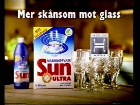 Reklameblokk på TV2 (1995?): Toro, Maryland, Sun Ultra, m.m.
