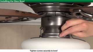 How To Install a Hunter Low Profile 5xxxx Series Model Ceiling Fan