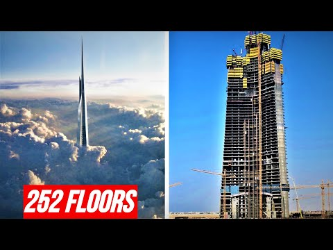 Jeddah Tower 2020 Update Timelapse | 1000m+ World's Tallest Building