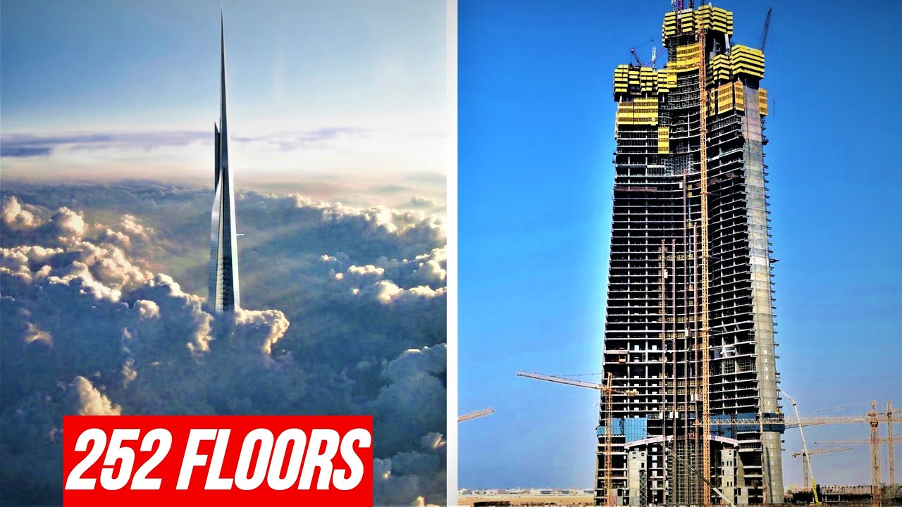 Jeddah Tower 2019 Update Timelapse | 1000m+ World's Tallest Building