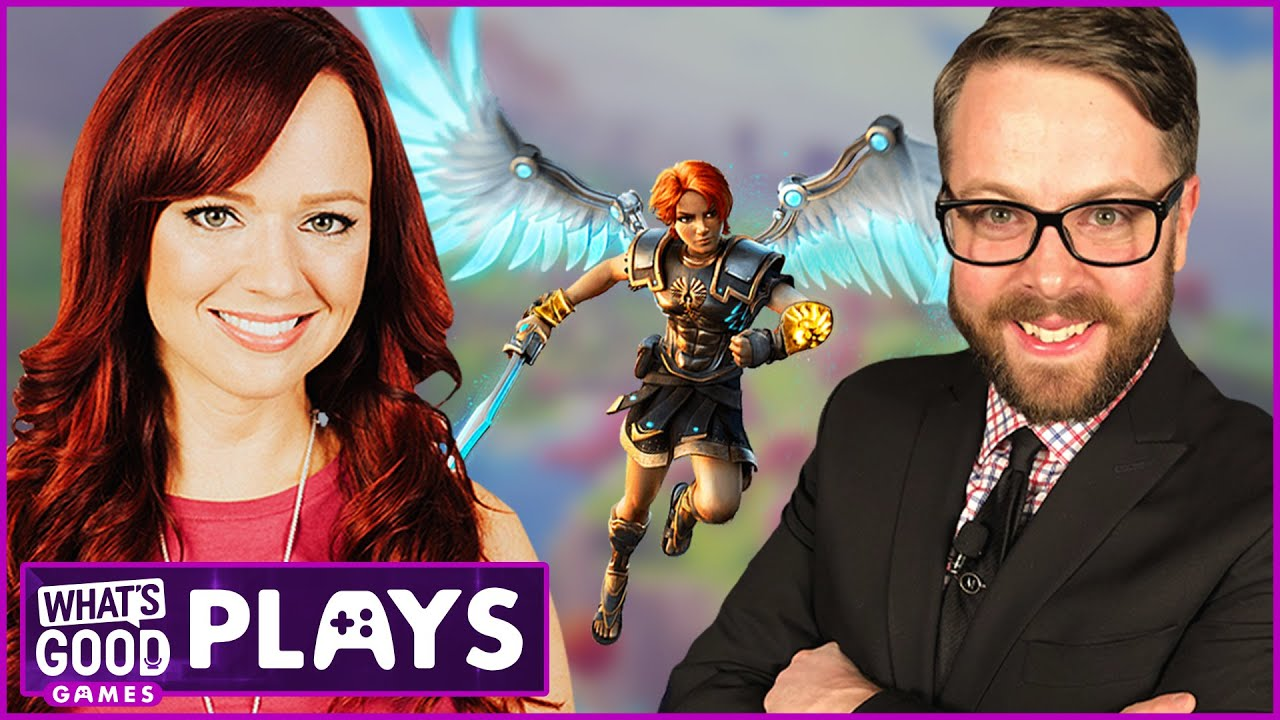 Greg Miller joins Andrea for the Immortals Fenyx Rising Stadia Demo