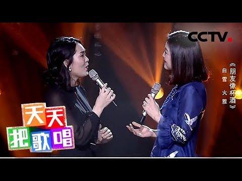 《天天把歌唱》白雪 火雅《朋友像杯酒》 20180827 | CCTV综艺