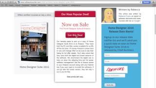 Home Designer Suite 2015 - Using A Coupon Code From Softwarevoucher.com