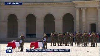 EN DIRECT. Suivez l'hommage national aux deux soldats tués au Burkina Faso