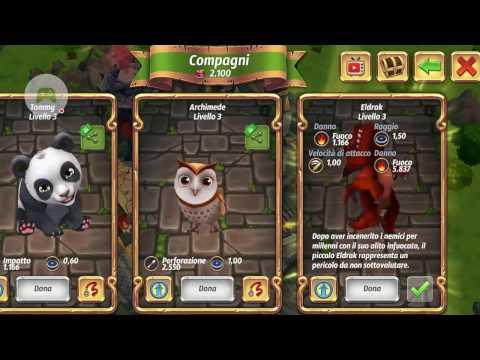 Royal Revolt 2 pals drago dragon Eldrak dragon features specifiche