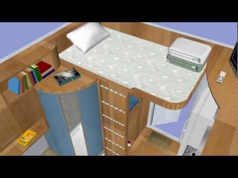 Cube - affordable tiny houses (3x3m, 9sq/m)