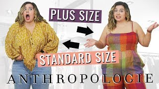 A Brutally Honest Review of Anthropologie (plus size & standard size)