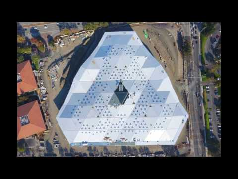Aerial Tour of New NVIDIA HQ Building