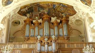 J.S. Bach - Fugue in g minor, BWV 578 (Little Fugue) / Ton Koopman, Organ
