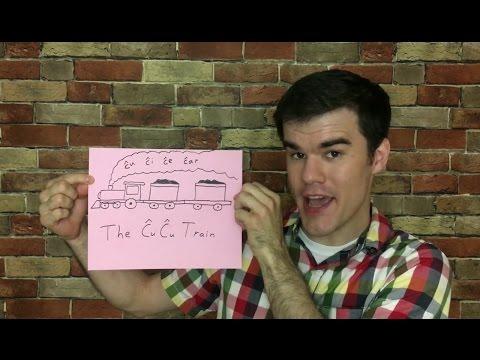 The Ĉu Ĉu Train in Esperanto (Ĉu, Ĉi, Ĉe, Ĉar)