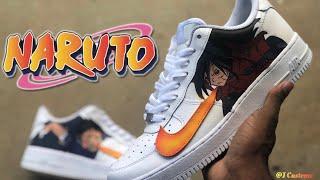 Custom Naruto Air Force One!!!! (Madara x Obito) (Prod. Patek beats)