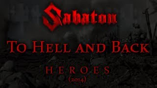 Sabaton - To Hell and Back (Lyrics English & Deutsch)