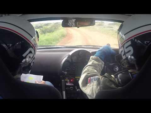 S.Zenonos-A.Chrysostomou SS1: Cavo Greco @ East Safari Rally 2015