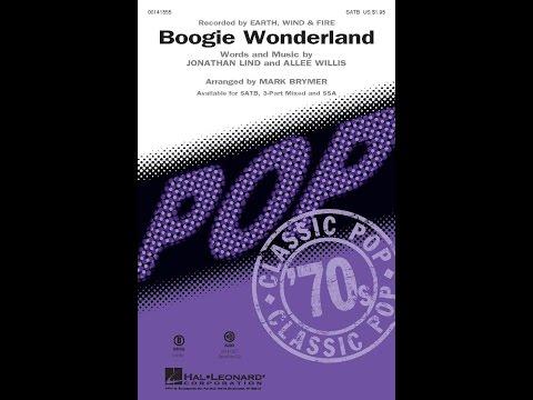 Boogie Wonderland - Arranged by Mark Brymer