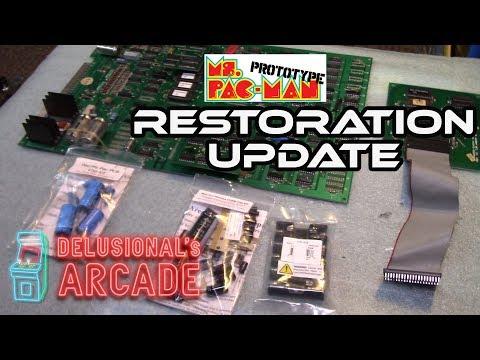 Ms  Pacman Upright Restoration [Sept 2019 Update]