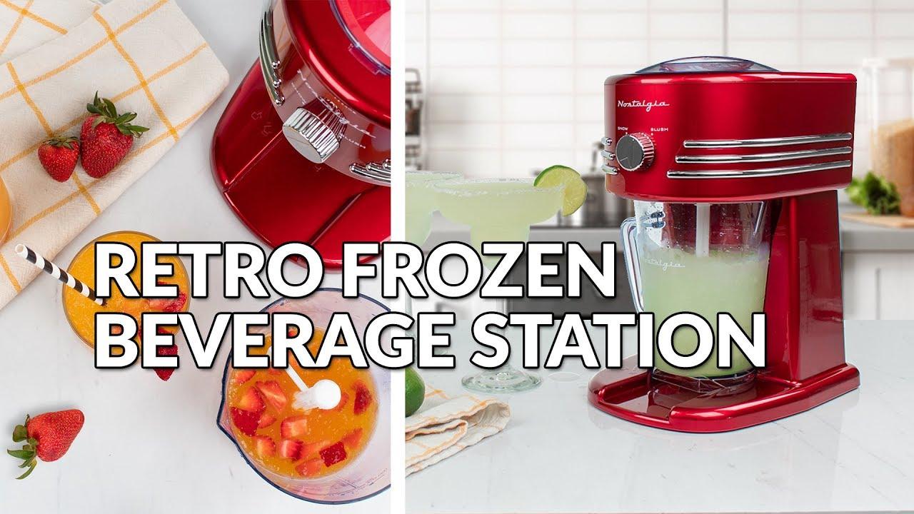Retro-Design Rot NEU Slush Maker Eismaschine