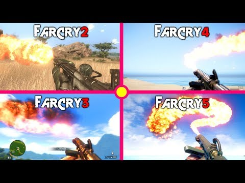 FAR CRY 5 - Flamethrower Evolution/History