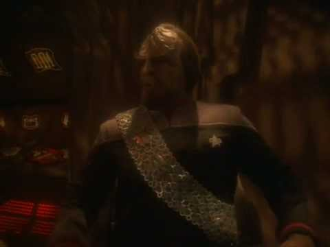 DS9 Worf and Martok discuss marriage (You are Cordially Invited)