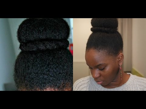 Coiffure protectrice cheveux afro: