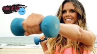 Twist and Shout Workout | Tone It Up Tuesdays