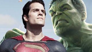 Será Superman el Hulk del Universo Cinematográfico de DC?