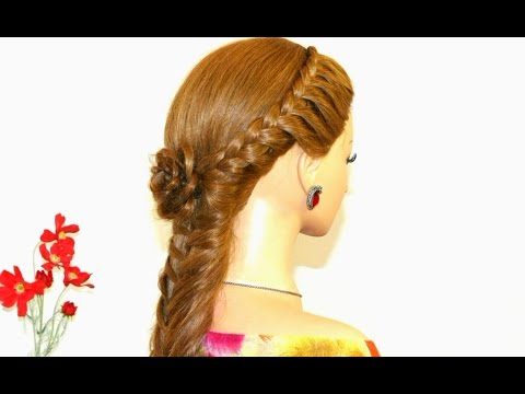 Easy braided hairstyle for long hair youtube urmus Gallery