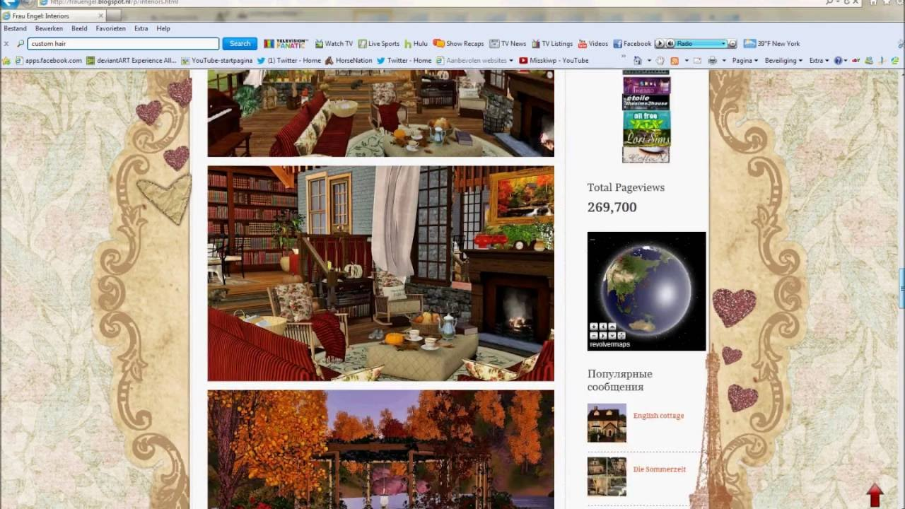 Over 67 Custom Content Website Links! | Sims 3