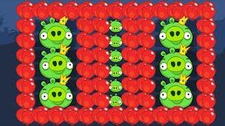 Bad Piggies - 100 BALLOON VS PIGGIES INVENTIONS!