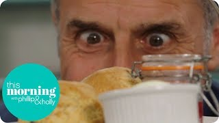 Phil Vickery's Scones Recipe and How You Should Pronounce the Word Scone | This Morning
