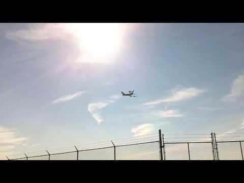 AWACS Takeoff from Dayton International Airport