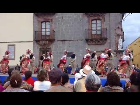 ballet folklorico Catzojoyo en San Miguel de Allende