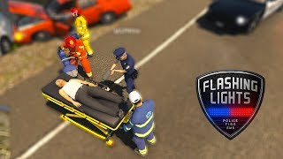 Flashing Lights #2 - Làm cấp cứu đi cứu người bị tai nạn giao thông | ND Gaming