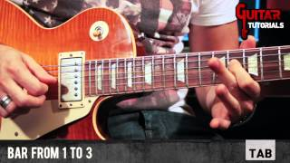 Blues Deluxe (Joe Bonamassa) - Intro - Guitar Tutorial with Matt Bidoglia