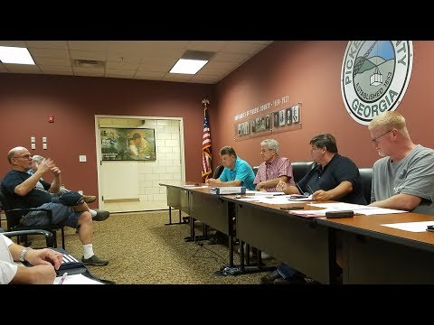 Pickens County Airport Authority July 2017