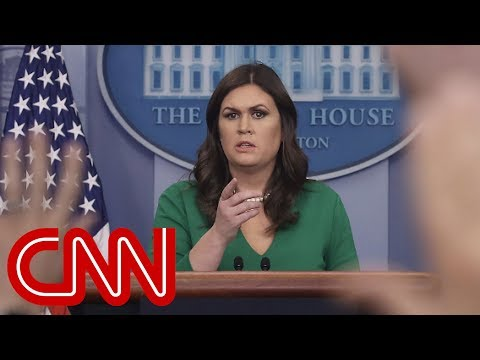 Sarah Sanders denies lying despite previous admission