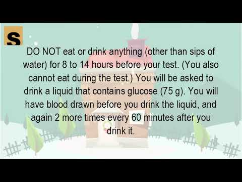 Can You Drink Water Before A Glucose Test