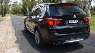 2015 BMW X3 xDrive30d 0-100km/h & engine sound