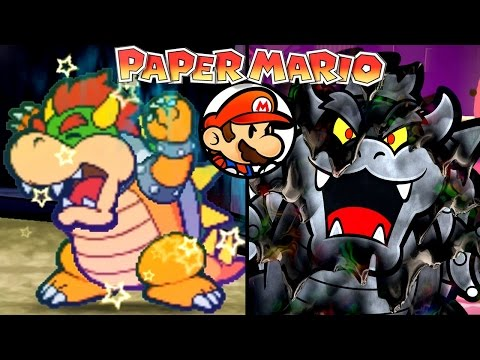 Paper Mario ALL FINAL BOSSES 2001-2016 (Wii U, 3DS, N64)