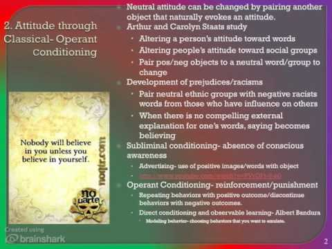 does attitude determine our behavior In what circumstances can attitudes predict behaviour in what circumstances can attitudes predict behaviour this essay aims to show that attitudes do not always predict behaviour, and a number of other variables should be in place before we can estimate the likelihood of a person behaving according to their attitudes.