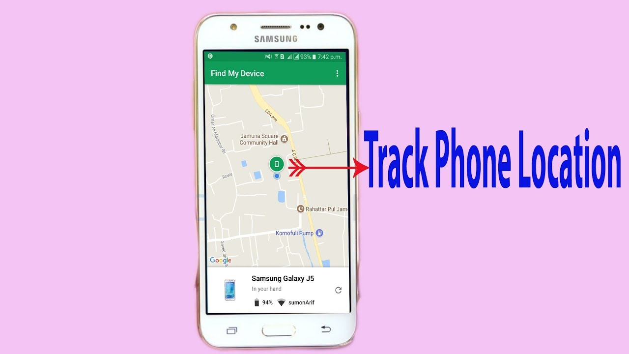 Google Phone Tracker How to Track a Android Phone Location Track My Phone  For Free Online