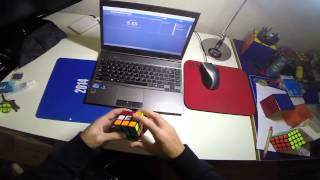 Rubik's cube solved in 4.21 seconds!